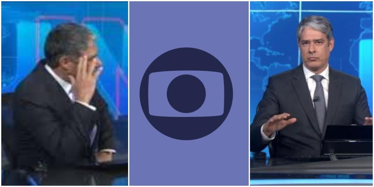 O âncora da Globo, William Bonner (Reprodução)