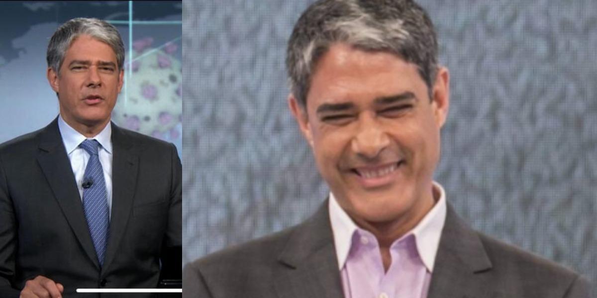 William Bonner tem causado ansiedade no público antes do JN de hoje (Foto: Reprodução/TV Globo)