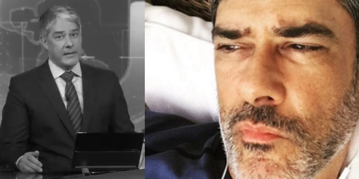 William Bonner está 'arrastando' o Jornal Nacional (Foto: Reprodução/TV Globo/Instagram)