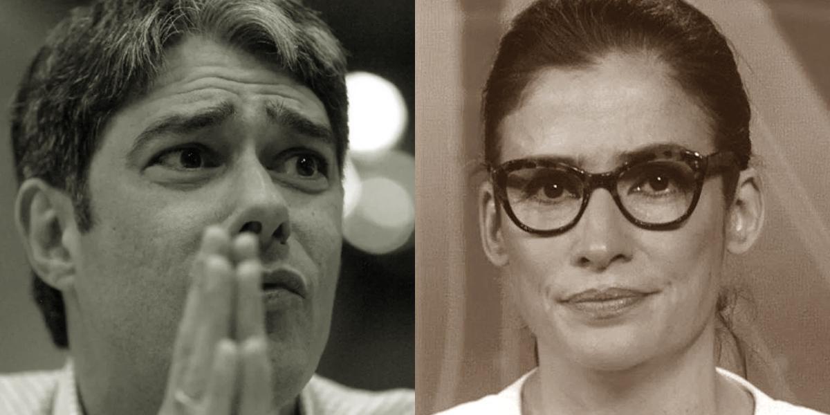 William Bonner e Renata Vasconcellos receberam relato cruel de vidente (Foto: reprodução/Globo)