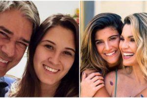 William Bonner é pai de Bia Bonemer; Flávia Alessandra é mãe de Giulia Costa