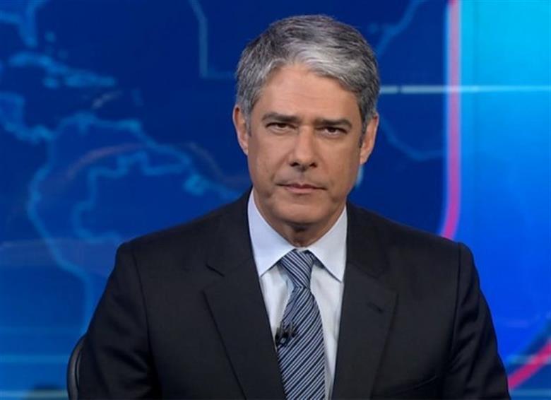 O jornalista William Bonner, âncora do Jornal Nacional - Foto: Reprodução