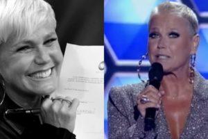 Xuxa e Record estão insatisfeitas e a apresentadora deve deixar a emissora (Foto: Divulgação/Record/Montagem)