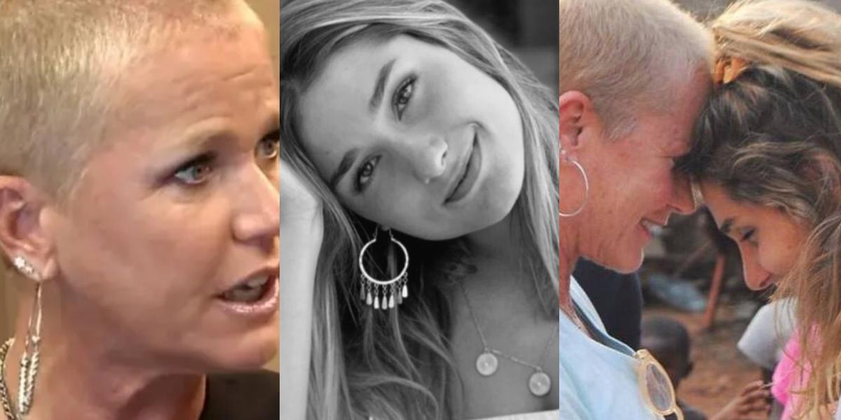 Xuxa se surpreendeu com uma declaração de Sasha (Foto montagem: TV Foco)