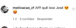 Zé Felipe chamou a atenção no Instagram (Foto: reprodução)
