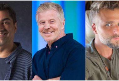 Zeca Camargo, Miguel Falabella e Bruno Gagliasso foram alguns dos nomes dispensados pela Globo (Montagem: TV Foco)