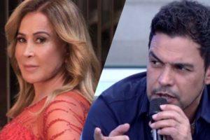 """Zilu supera declarações polêmicas de seu ex, Zezé Di Camargo e diz que quer """"paz e amor"""" (Montagem: TV Foco)"""