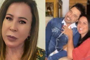 Zilu postou mensagem um dia após declarações de amor de Zezé e Graciele