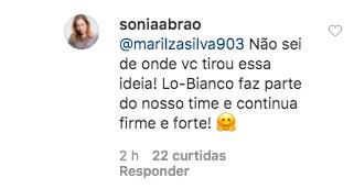 Resposta Sonia Abrão