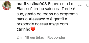 Comentário post Sonia Abrão