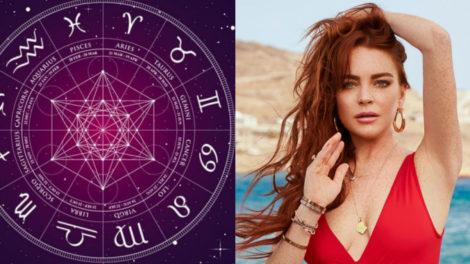 A quinta-feira (02) é marcada pelo aniversário da cantora e atriz Lindsay Lohan, que é do signo de Câncer (Foto: Reprodução)