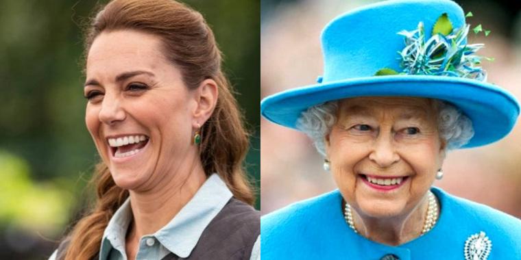 Kate Middleton ultrapassa Elizabeth II no quesito popularidade e surpreende (Foto: Reprodução)