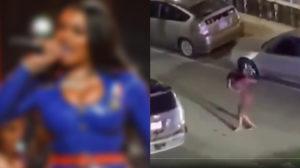 Cantora é baleada enquanto voltava de festa (Foto: Reprodução)