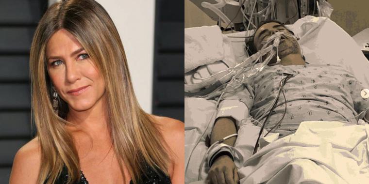 Com amigo na UTI por coronavírus, Jennifer Aniston faz apelo nas redes sociais (Foto: Reprodução)