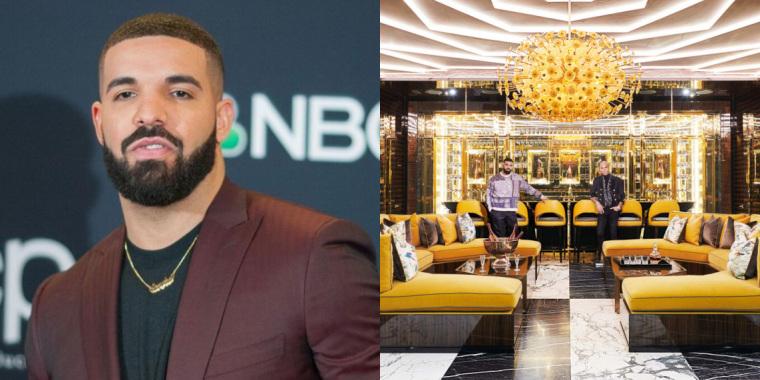 Drake abre as portas de sua mansão e tamanho do imóvel assusta (Foto: Reprodução)