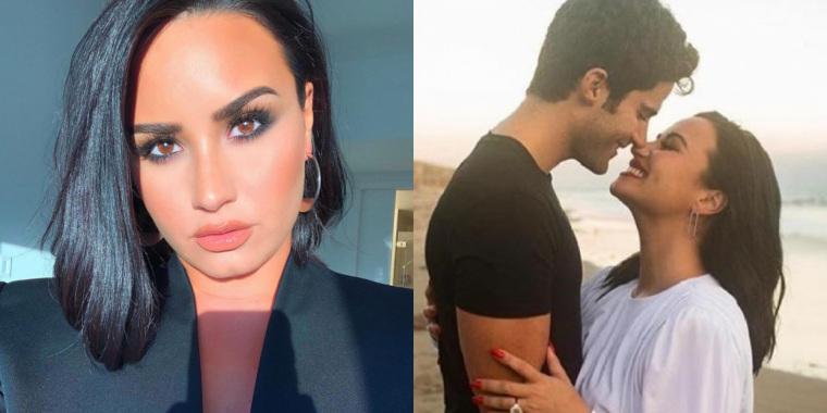 Demi Lovato anuncia noivado (Foto: Reprodução)