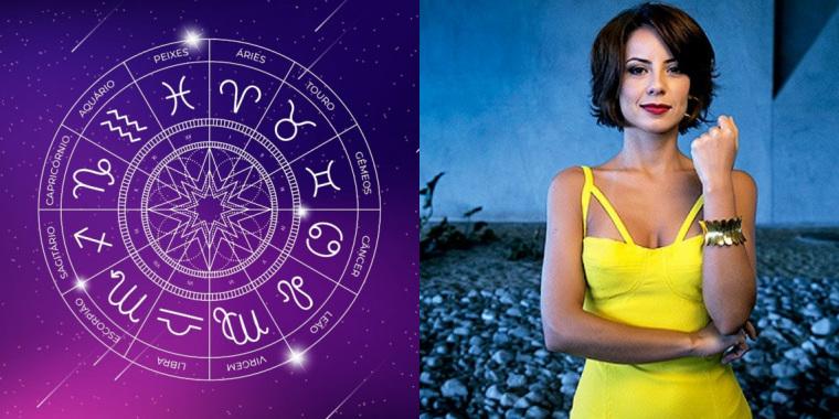 A segunda-feira 27 é o aniversário da atriz Andréia Horta, artista que é do signo de Leão (Foto: Reprodução)