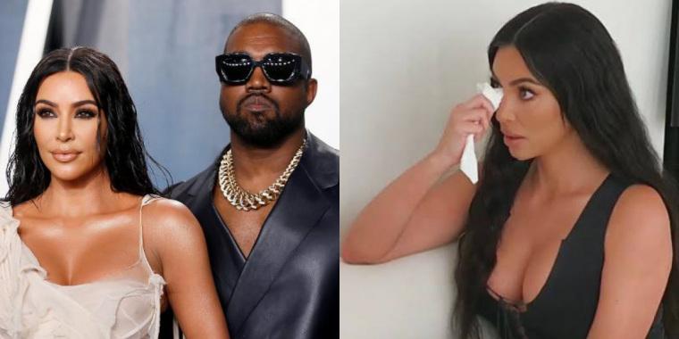 Kim Kardashian diz que não sabe mais o que fazer para salvar o casamento (Foto: Reprodução)