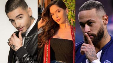Em nova música, Maluma lança indireta para ex e Neymar (Foto: Reprodução)