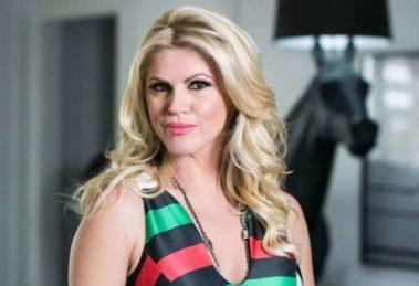 Val Marchiori foi detonada após entrevistar primeira-dama de São Paulo (Foto: Reprodução)