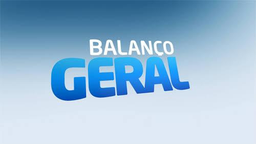 Logo do Balanço Geral, telejornal da hora do almoço da Record (foto: reprodução)