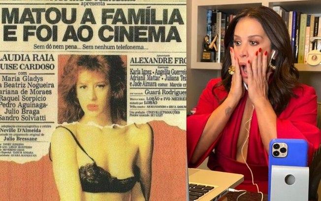 Claudia Raia em matou a familia e foi ao cinema
