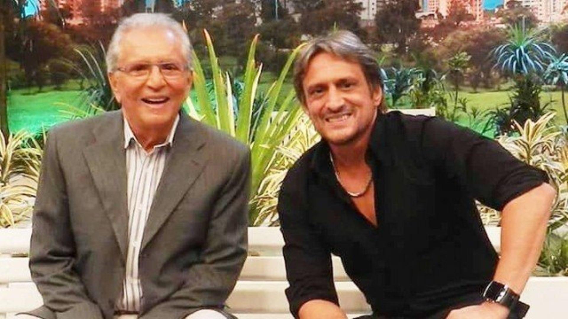 Carlos Alberto e Marcelo Nóbrega (Foto: Divulgação)