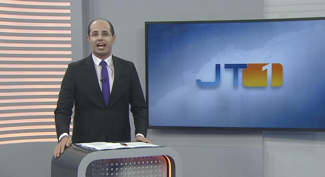 Rodrigo Nardelli foi um dos poucos da afiliada da Globo a não adoecer (foto: Reprodução/TV Tribuna)