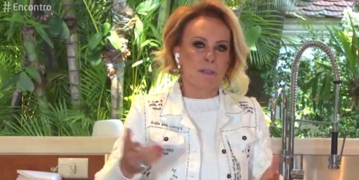 Ana Maria Braga lamentou perda de restaurantes de Henrique Fogaça (Foto: Reprodução)