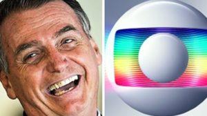 Bolsonaro comemorou o fim do monopólio da TV Globo sob o futebol (Foto: Montagem/TV Foco)