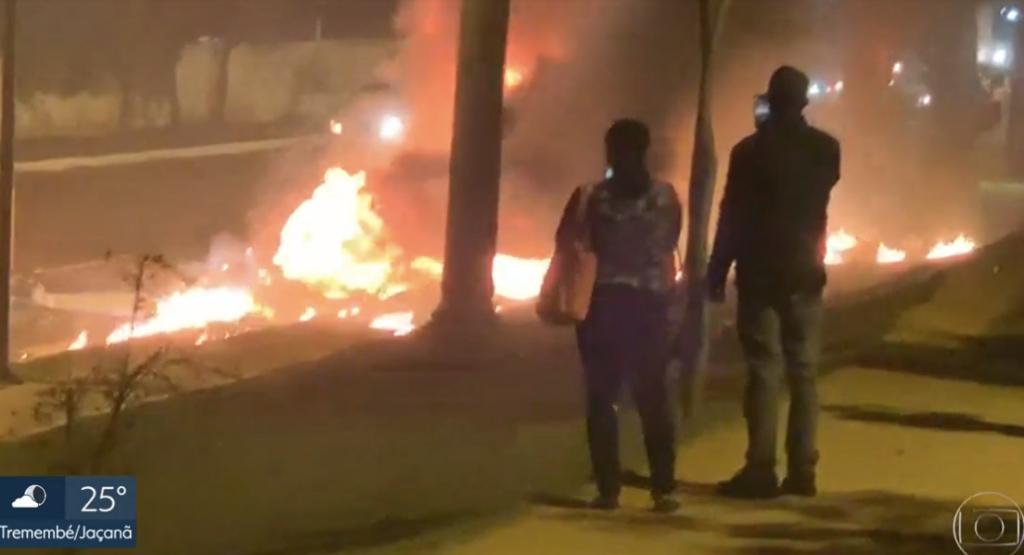 Avião caiu e Globo entrou com plantão para trazer notícias (Foto montagem)