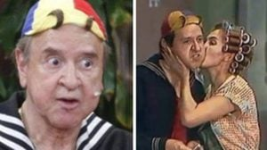 Carlos Villagrán teve um breve romance com Florinda Meza (Foto: Montagem/TV Foco)