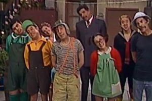 Elenco do divertido seriado mexicano Chaves (Foto: Reprodução)