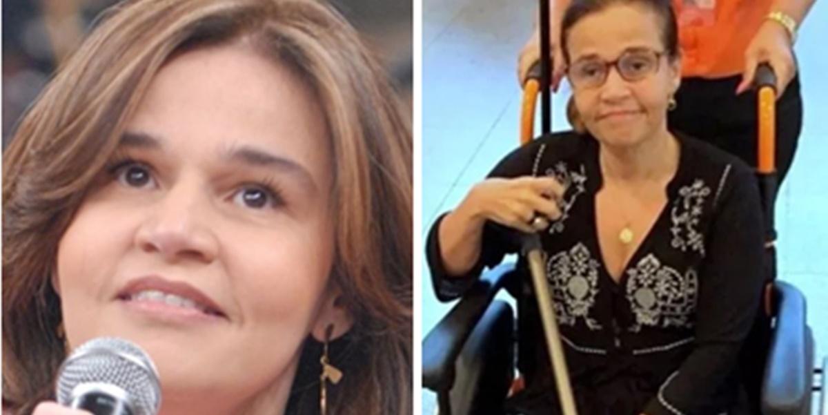 Acidente: Claudia Rodrigues foi internada às pressas após aparecer em cama de hospital (Foto: Montagem/TV Foco)