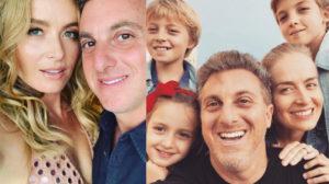 Angélica e Luciano e os filhos (Foto: Divulgação)