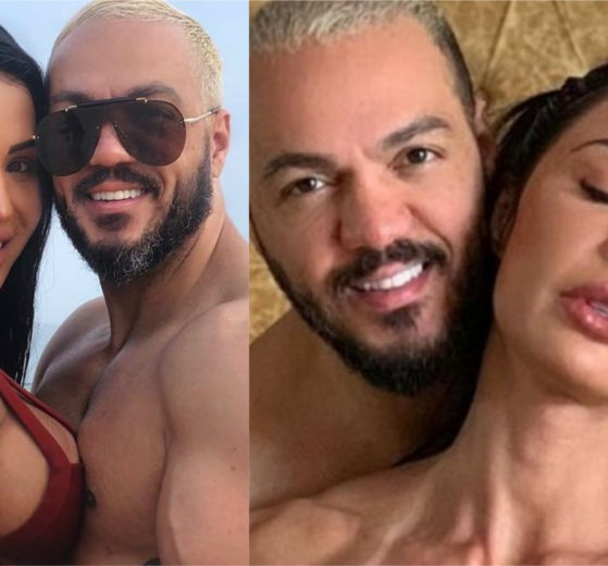 Gracyanne Barbosa e Belo roubaram a cena nas redes sociais (Foto: Divulgação)