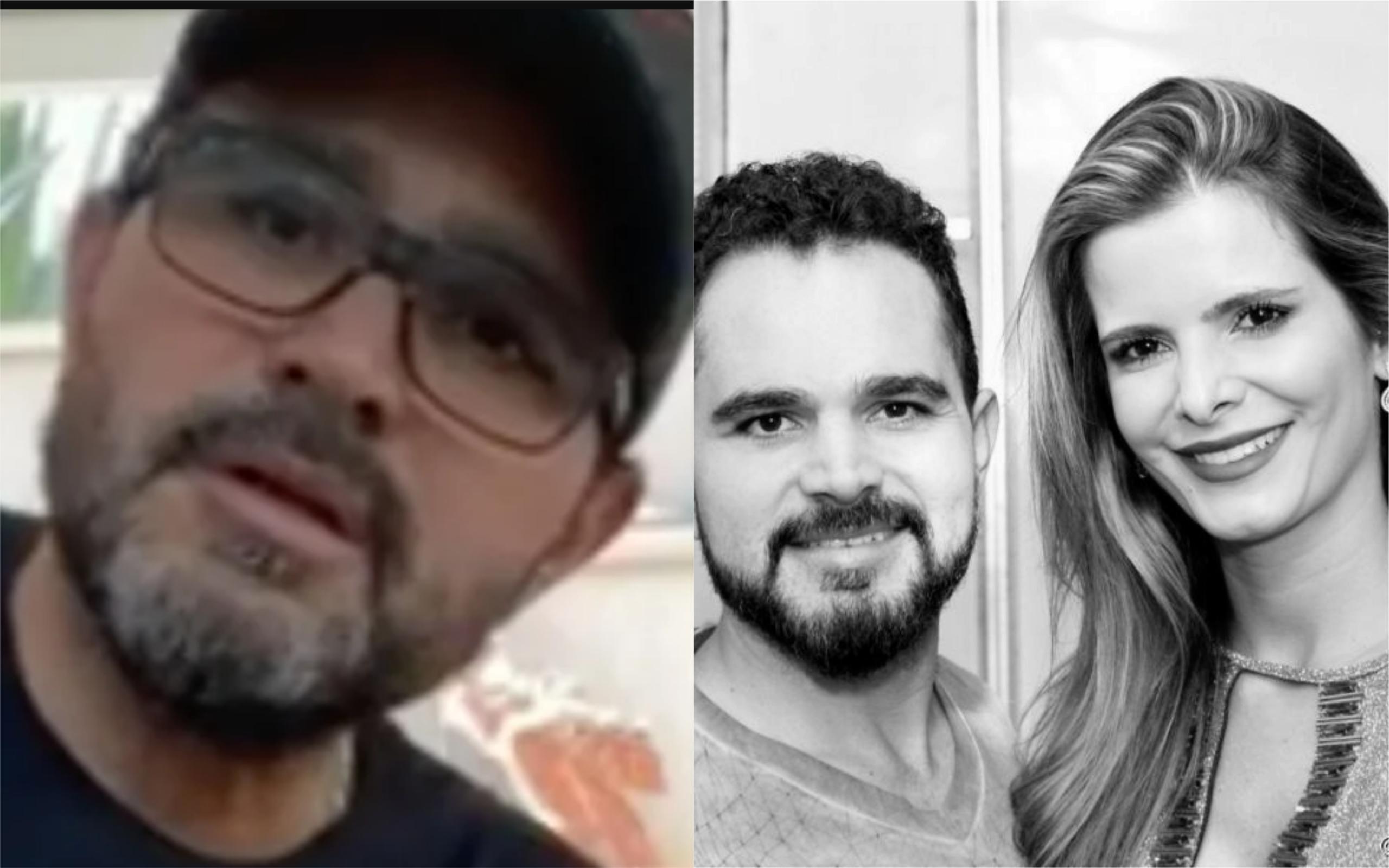 Luciano Camargo é casado com Flavia (Foto: Divulgação)