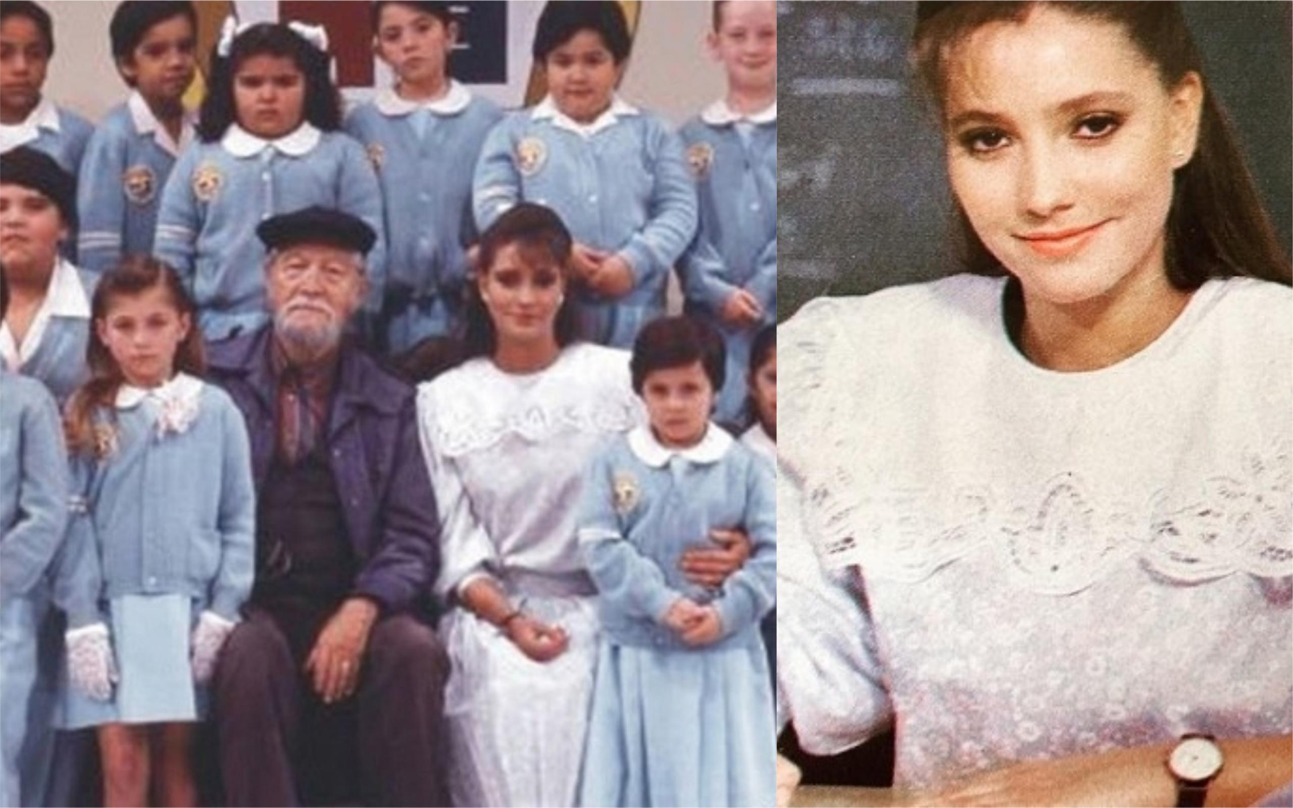 A Professora Helena, da novela Carrossel (Foto: Divulgação)
