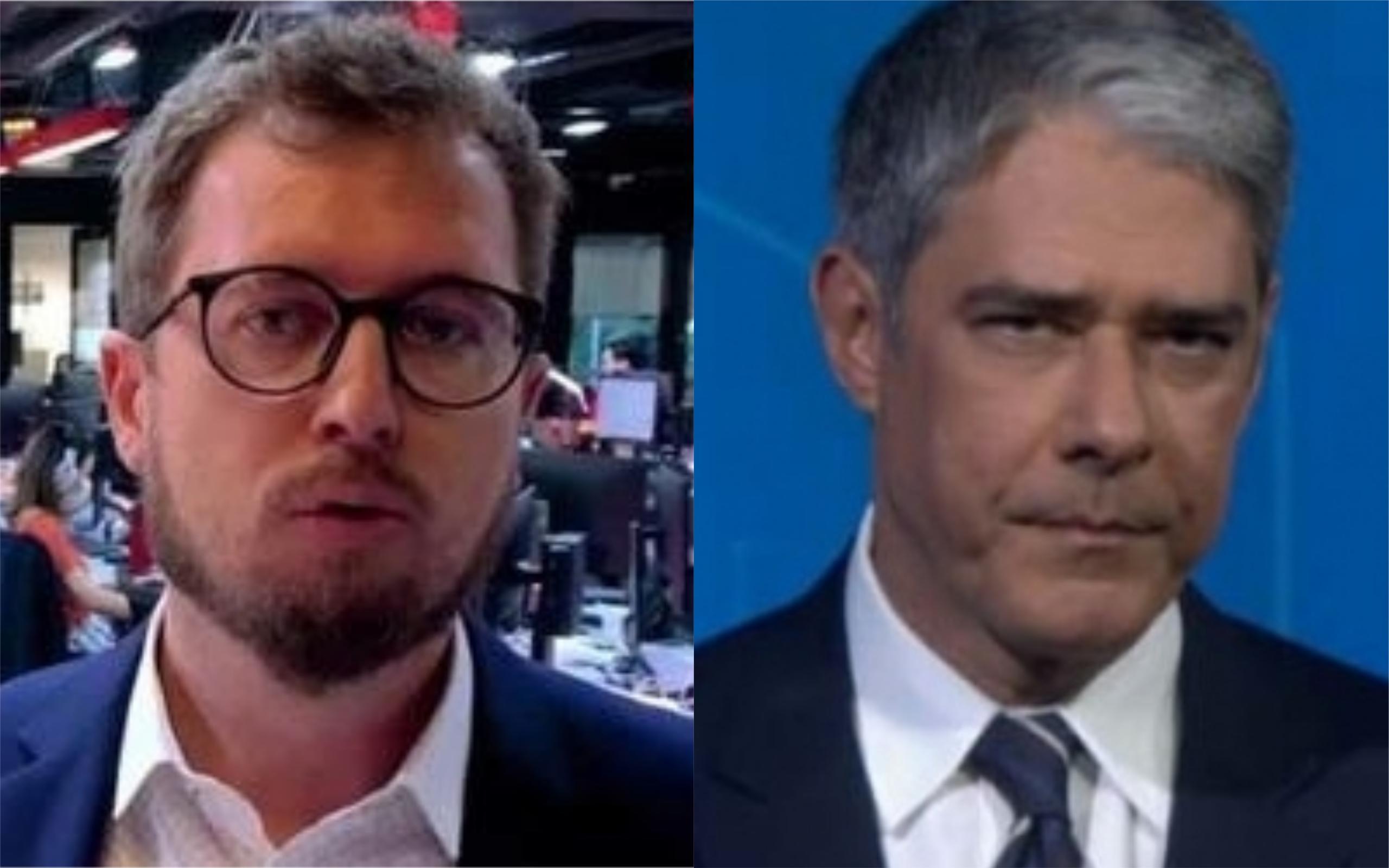 Leandro Narloch criticou William Bonner (Foto: Divulgação)