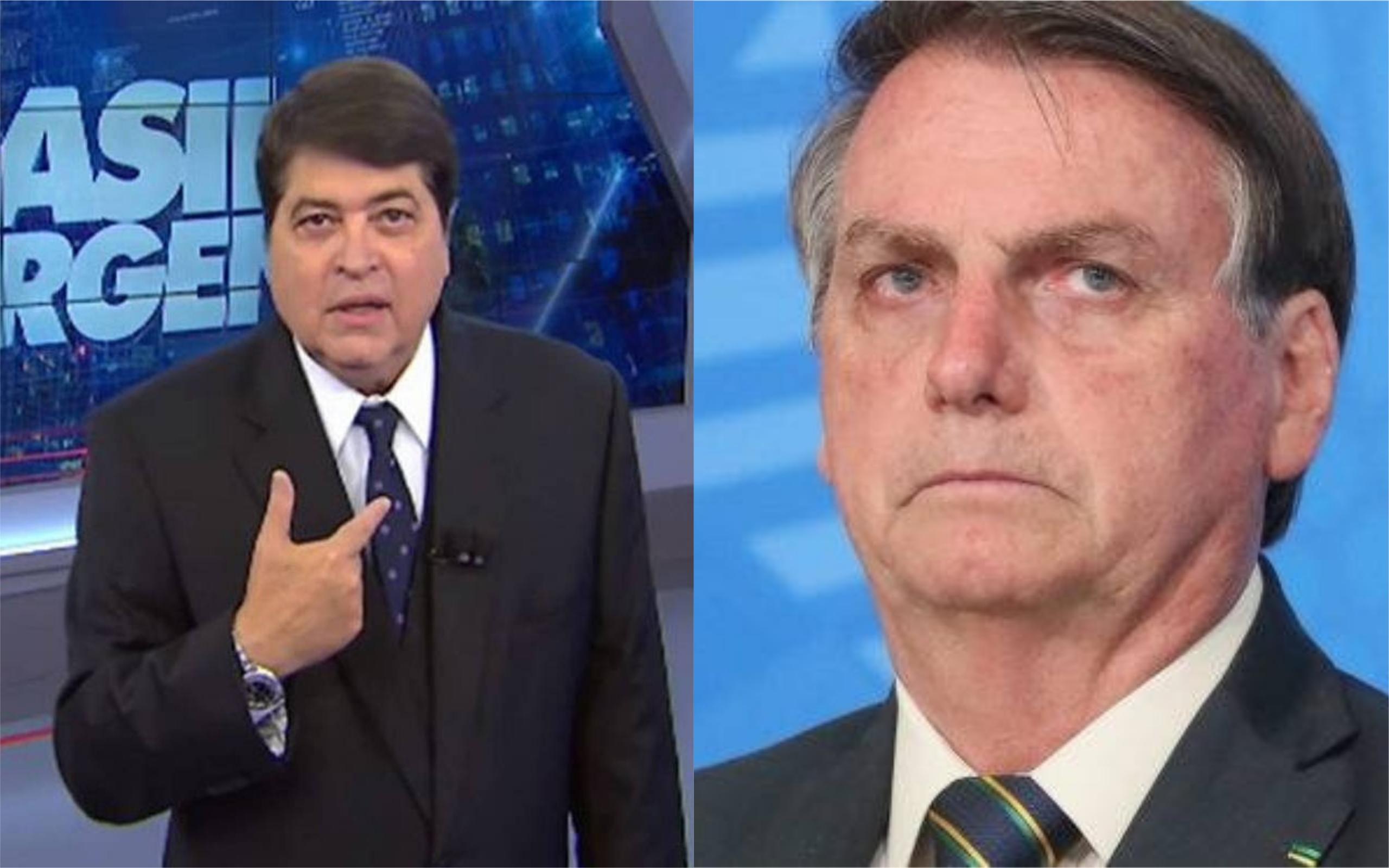 Datena e Jair Bolsonaro (Foto: Divulgação)