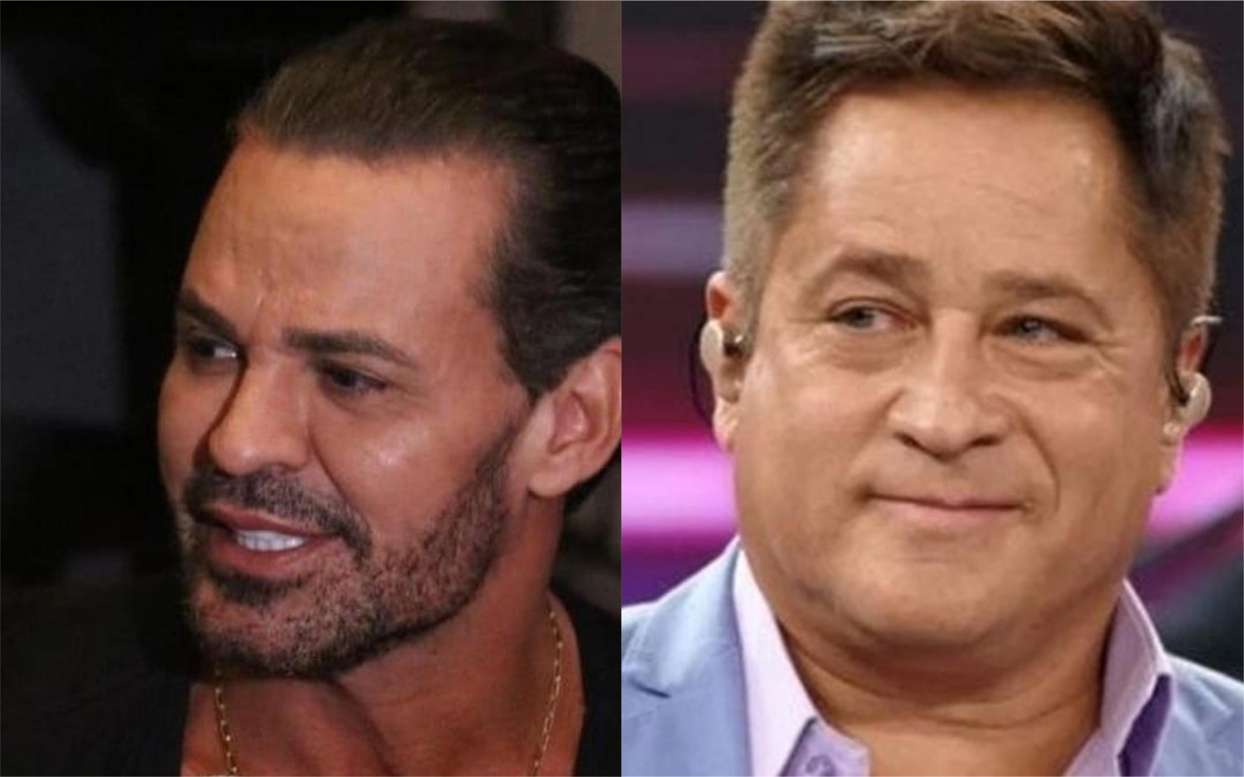 Eduardo Costa e Leonardo estão disputando o título de 'rei' (Foto: Reprodução)