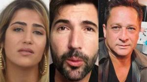 Jessica Costa, Sandro Pedroso e Leonardo (Foto: Divulgação)