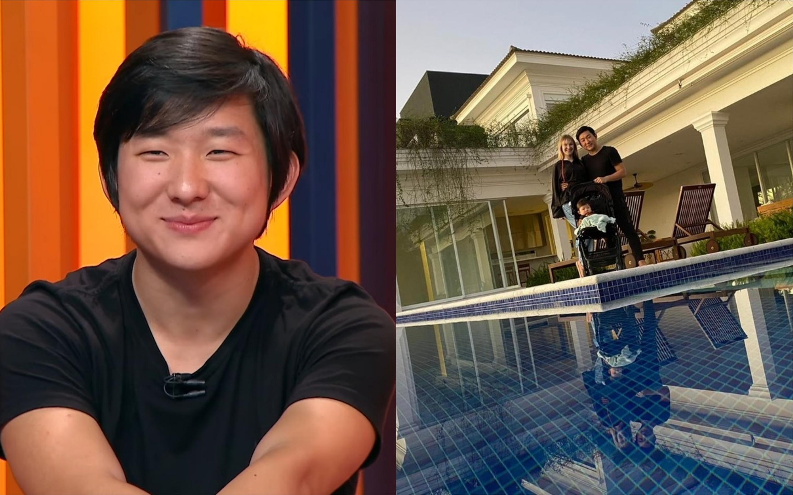 Pyong Lee está em sua nova mansão (Foto: Divulgação)