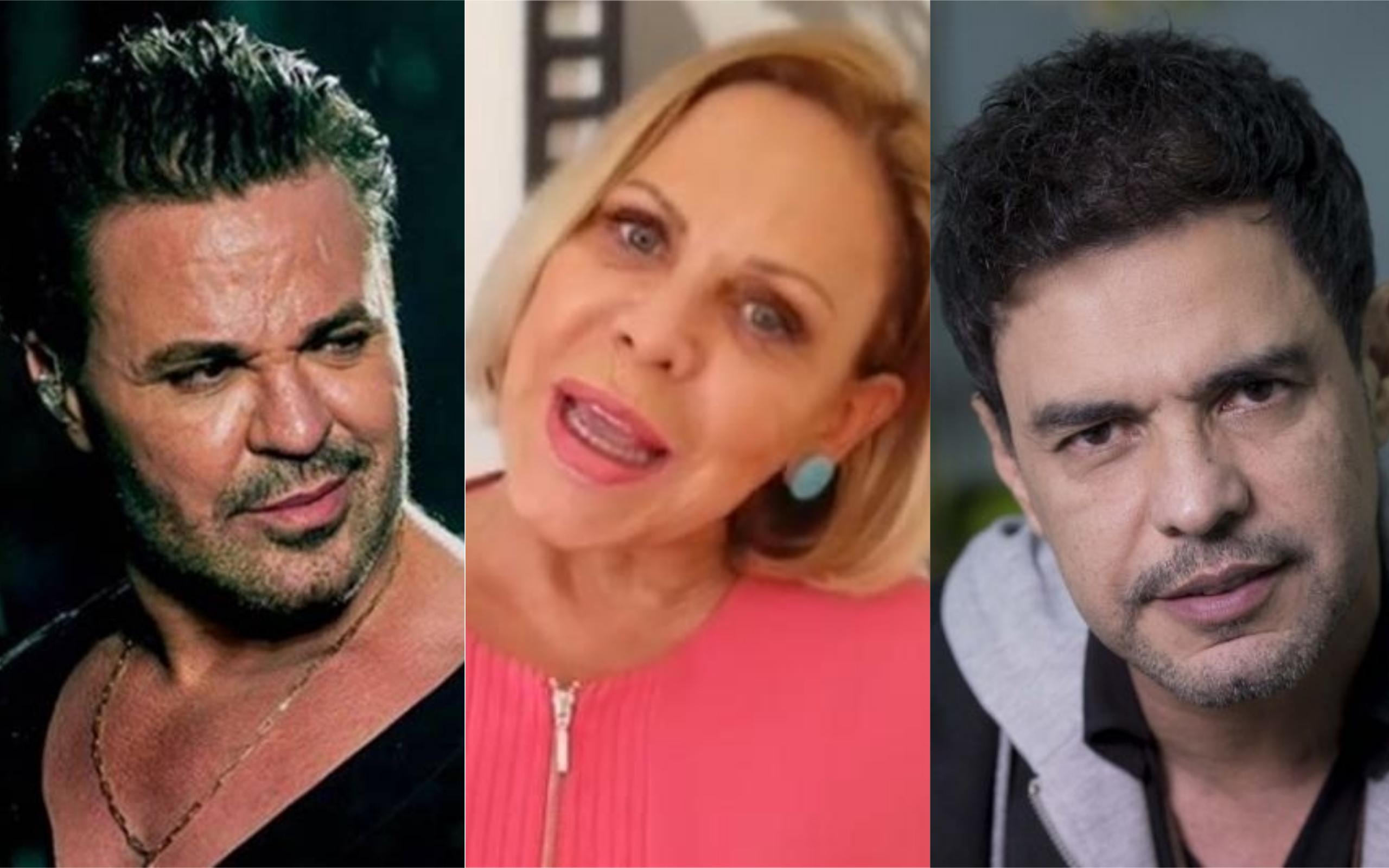 Eduardo Costa, Claudete Troiano e Zezé di Camargo deram o que falar (Foto: Divulgação)