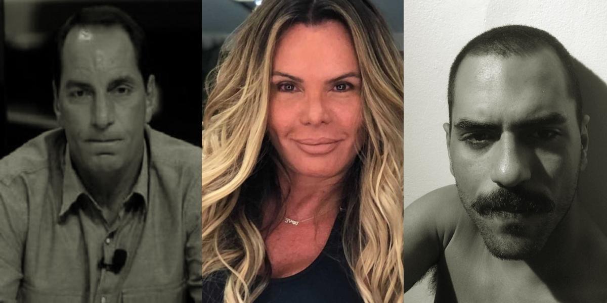 Edmundo, Cristina Mortágua e Alexandre