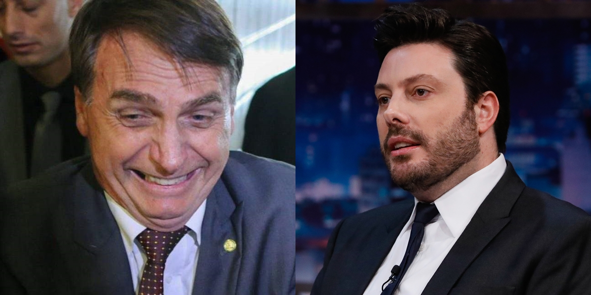 Bolsonaro e Danilo Gentili