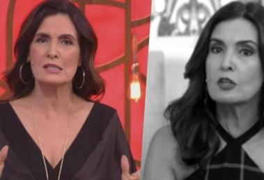 Fátima Bernardes do Encontro na Globo (Foto: Montagem)