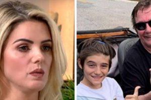 Mari Alexandre acusou Fábio Jr de abandonar o filho (Foto: Montagem/TV Foco)