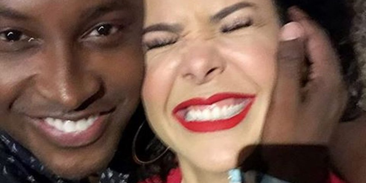 Fernanda Souza deixou mensagem carinhosa para o ex, Thiaguinho (Foto: Reprodução)