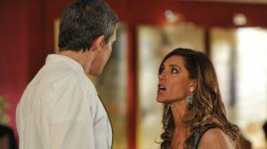 René Velmont e Tereza Cristina em Fina Estampa (Foto: Divulgação)